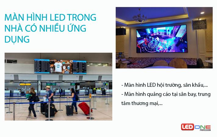 Địa điểm lắp đặt màn hình LED P1.25