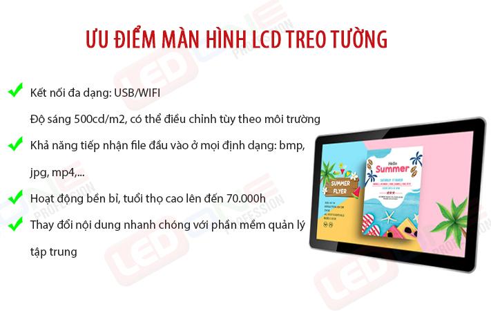 к»u ─Љiр╗Ѓm m├аn h├гnh LCD treo tк░р╗Юng