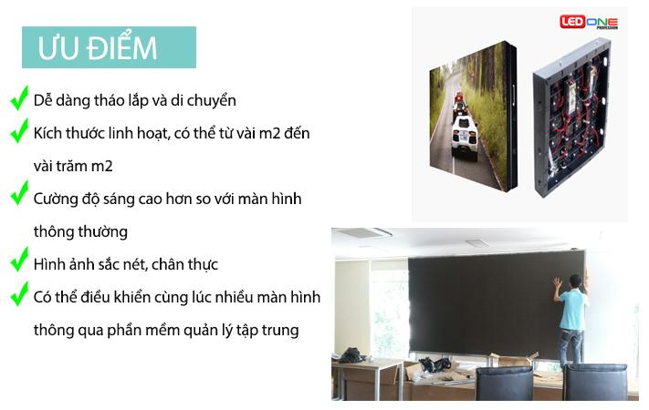 Ưu điểm của màn hình LED P10